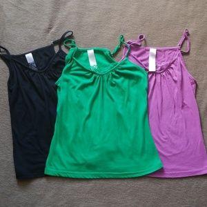Set of three Avon camisoles